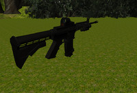 weapon m4a1 eotech model