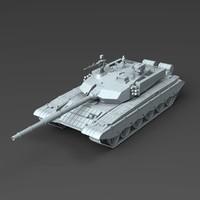 type 99 ztz-99 tank 3d model