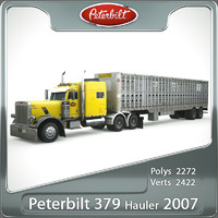 379 hauler 2007 3d model
