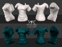 3d shoulder angelred couture model