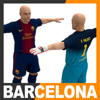 Football Player and Goalkeeper - FC Barcelona