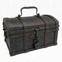 chest metal 3d model