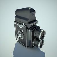 maya rolleiflex camera cam