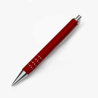 3d model of pen blender cycles