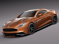 3d model of aston martin 310 vanquish