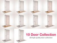 3d 10 doors model