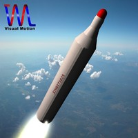north musudan missile bm25 3d model