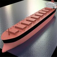 3d ship bulker model