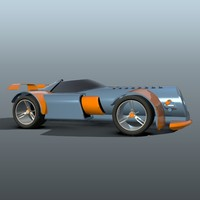 toy car 3d 3dm