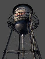 Water Tower (GAME READY)