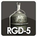 maya rgd-5 hand grenade
