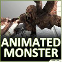 giant tentacular 3d model