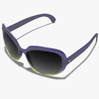 3d model glasses sunglasses