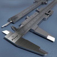 3d model mitutoyo vernier caliper