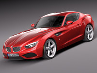 bmw zagato coupe concept 3d 3ds