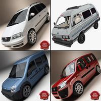 3d model buses 4
