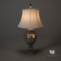 3d model midsummer lamp