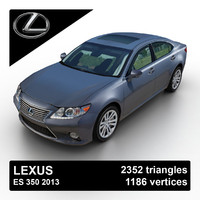 2013 lexus es 350 3d 3ds