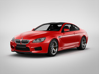 bmw m6 coupe 2013 3d max