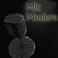 free mic microphone 3d model