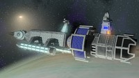 Space medical frigate