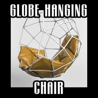 3d model globe hanging chair