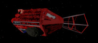 red dwarf ship 3d 3ds