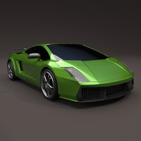 redesigned lamborghini superleggera 3d 3ds