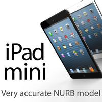 nurb ipad mini 3d obj