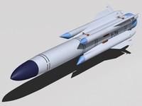 3d kh-31a missile model