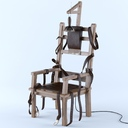 electric chair 3D models