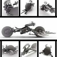 3d model batpod bat pod