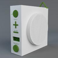 lexon maizy radio 3d max