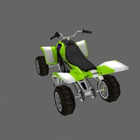 low poly ATV 11