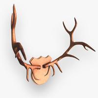 deer antlers c4d