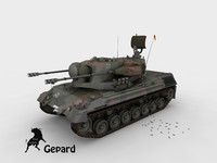 Gepard German Army Scheme
