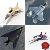 Jet Fighters Rigged Collection 2