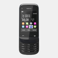 3d model nokia c2-06 touch type