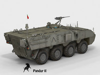 Pandur II Portuguese Army Version