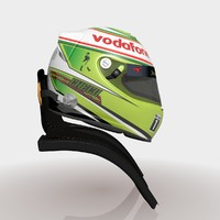 Sergio Perez 2013 Helmet