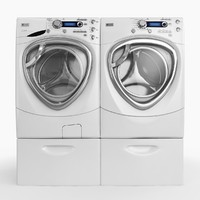 washer dryer 3d model