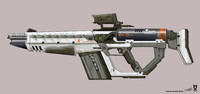 Rail Gun Rifle