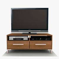 sienna tv cabinet 3ds