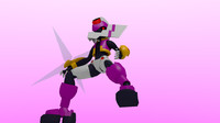 3d megaman siarnaq zx advent