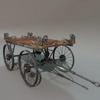 3d freight cart