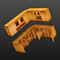 cupboard corner 3d model