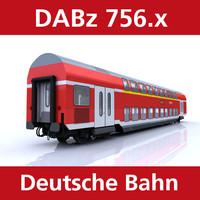 passenger deutsche bahn 3d model