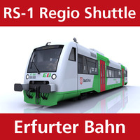 3ds max rs-1 regio shuttle passenger train