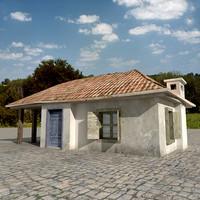 s village house