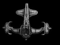 3d scout ship model